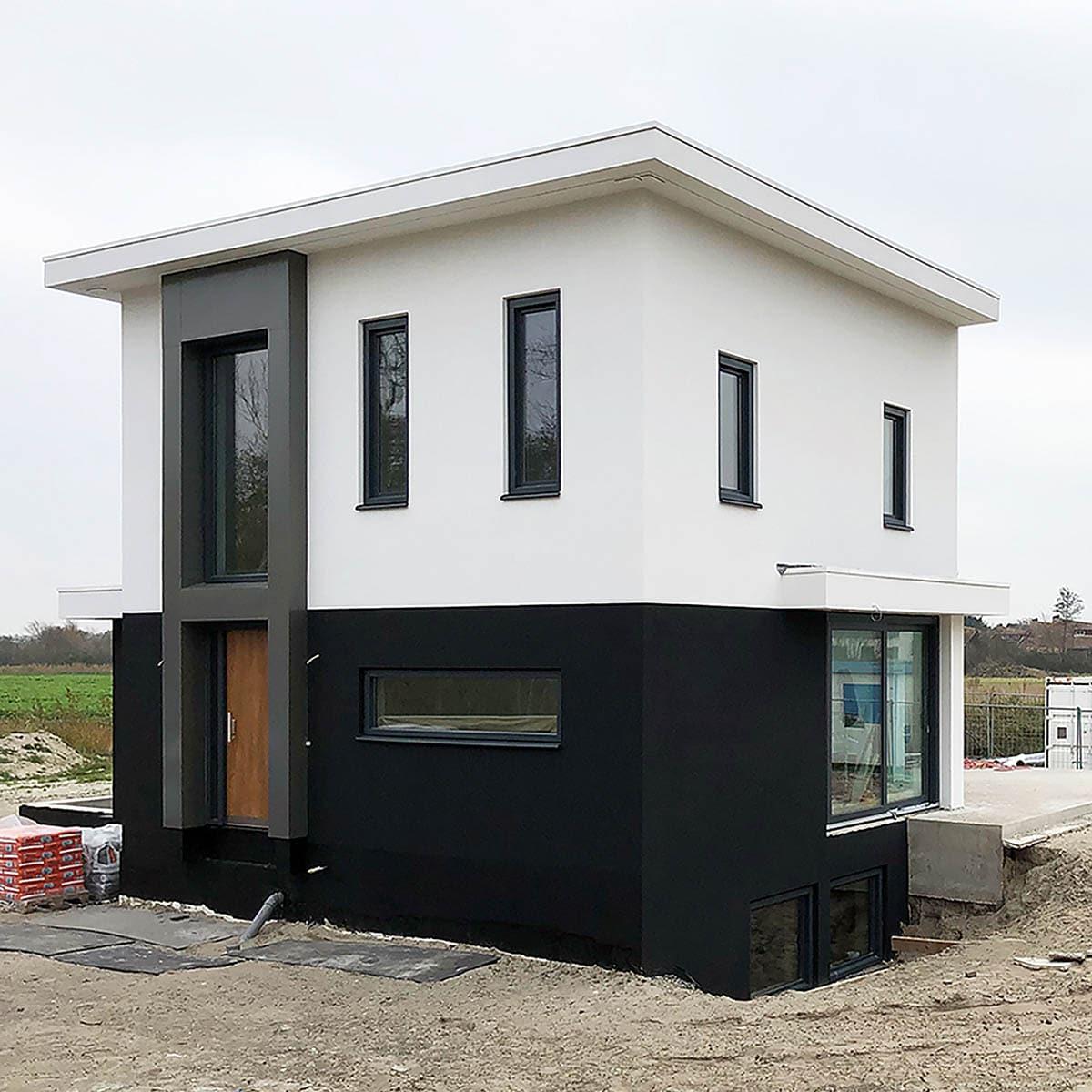 De modelwoning Texel