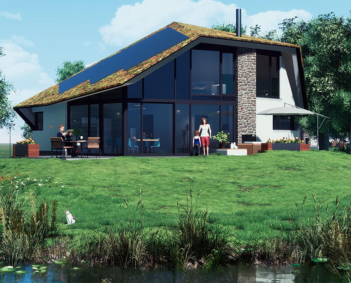 EPS natuurvilla Waalerburght van Texel Exclusief