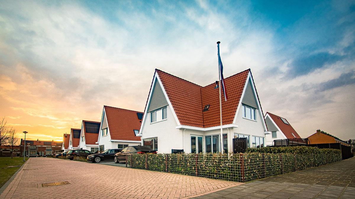 EPS bouw stadsvilla's van de Abbesteehof in Den Helder